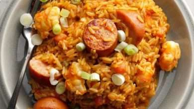 Photo of Easy Jambalaya- Delicious dish prepared quickly