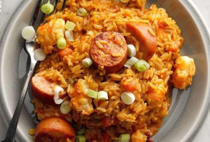 Photo of Easy Jambalaya- Delicious dish prepared quickly