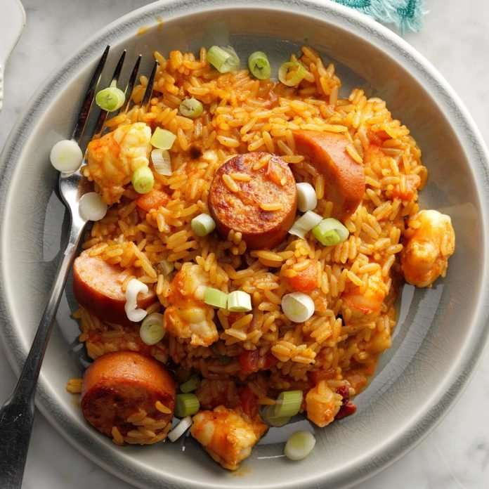 Easy Jambalaya- Delicious dish prepared quickly, Profile News - بروفايل نيوز