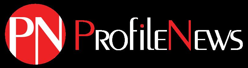 Profile News Logo White