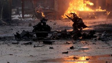 صورة انفجار سيارة مفخخة شرقي سوريا