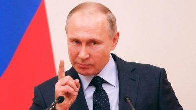 صورة بوتين يتحدث عن تغيير نظام الانتخابات الأمريكية!
