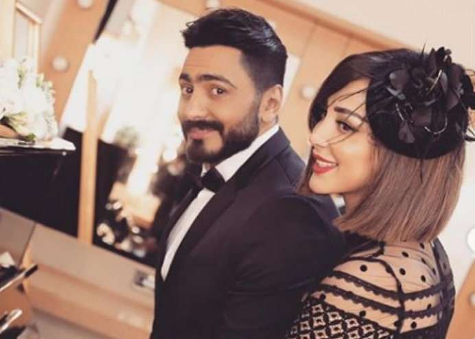 Tamer Hosni wife causes an uproar .. What is the truth about their separation!, Profile News - بروفايل نيوز
