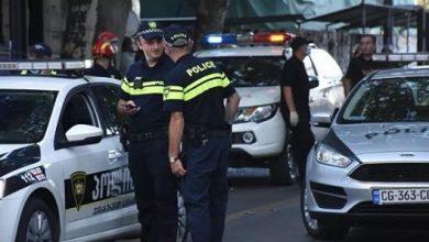 صورة اقتحام مسلح واحتجاز رهائن في جورجيا