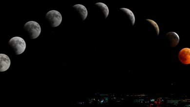 Photo of These countries are on a date with a semi-lunar eclipse