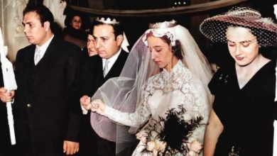 Photo of A rare picture by Fayrouz … 85 years of love