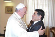 """صورة الفاتيكان يودع """"شاعر كرة القدم"""""""