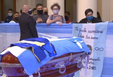 """Photo of After his death … a strange surprise detonated about Maradona's """"body"""""""