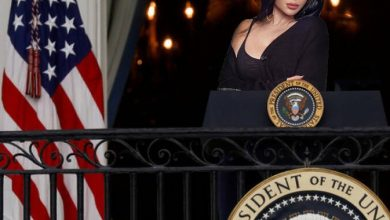 Photo of Haifa Wehbe competes with the American presidential candidates!