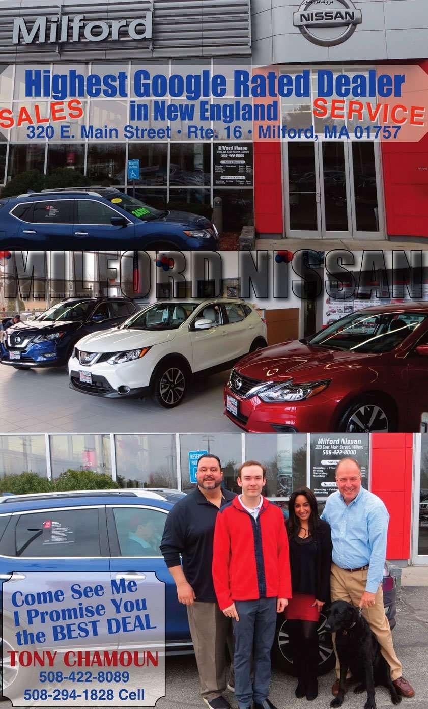 ميلفورد نيسان – Milford Nissan, بروفايل نيوز - Profile News