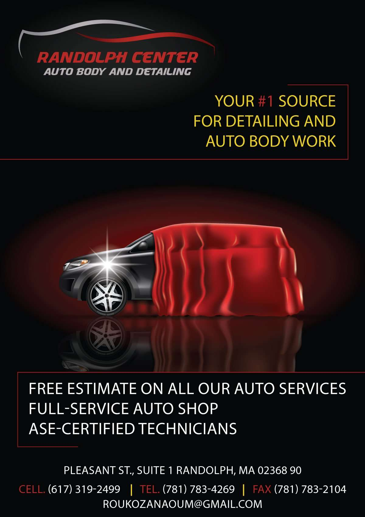 Randolph Center – Auto Body and Detailing, Profile News - بروفايل نيوز
