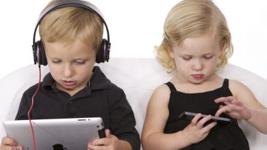 Photo of Electronics and children's health