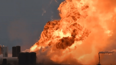 Photo of Space rocket explosion in Texas