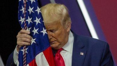 """صورة ترامب و""""خطاب الوداع""""!!"""