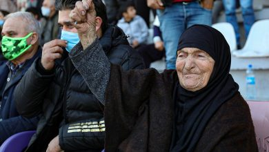 Photo of Learn about the oldest Arab football fan on the stands