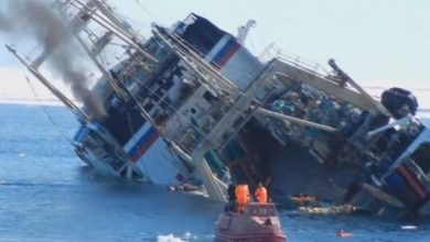 Photo of A Russian ship sank off the Turkish coast