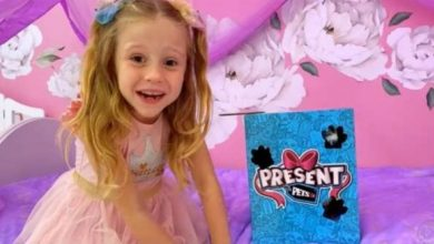 Photo of A 6-year-old girl makes millions from YouTube !!