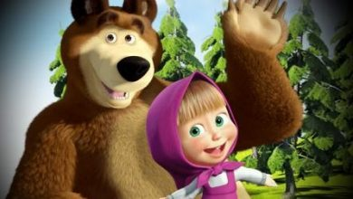 "Photo of ""Masha and the Bear"" ranks first in the world"