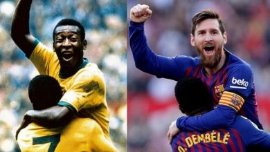 Photo of Messi smashes the legend Pele number
