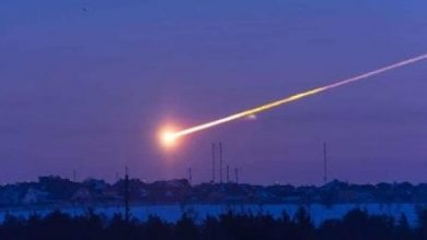 Photo of A meteorite fall in China causes panic