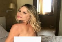 """Photo of Because of a sporting event … an actress publishes her """"nude"""" photo"""