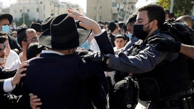 Photo of Clashes between Israeli security and ultra-Orthodox Jews