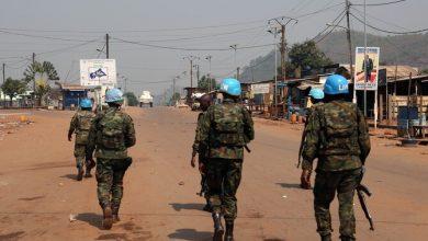 صورة مقتل عنصرين من البعثة الأممية أحدهما عربي في إفريقيا الوسطى