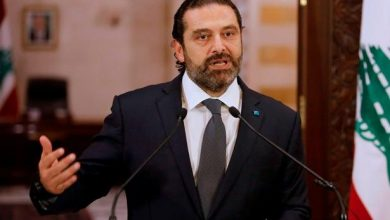 "Photo of Al-Hariri ""tweets"" about the Tripoli demonstrations and makes accusations!"