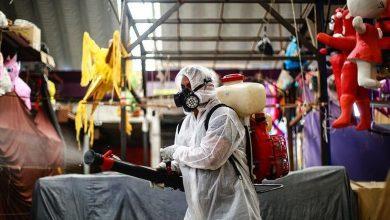 صورة حصيلة وفيات كورونا في المكسيك نحو 150 ألف