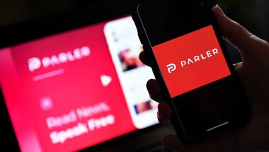 "Photo of The application ""Parler"" announces his return date"