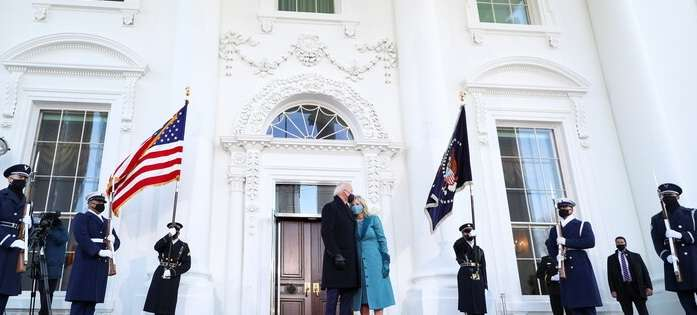 How was Biden received in the White House ?!, Arabic newspaper in Boston-USA-Profile News
