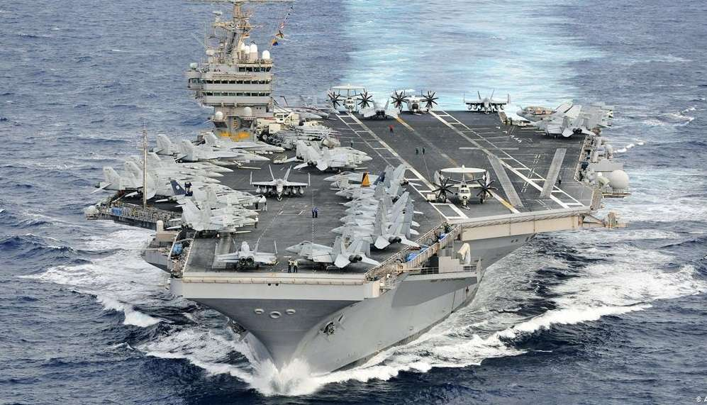 An American decision on the aircraft carrier in the Middle East, Profile News - بروفايل نيوز