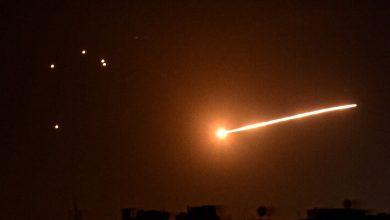 صورة دمشق: الدفاعات الجوية السورية تتصدى لهجوم إسرائيلي في محافظة حماه