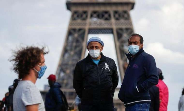 France records 455 new deaths in Corona, Arabic newspaper in Boston-USA-Profile News