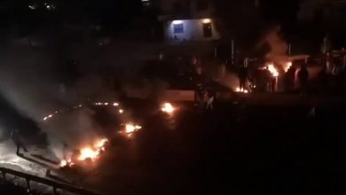 صورة الصليب الأحمر اللبناني: ارتفاع حصيلة الاشتباكات بين المحتجين والأمن