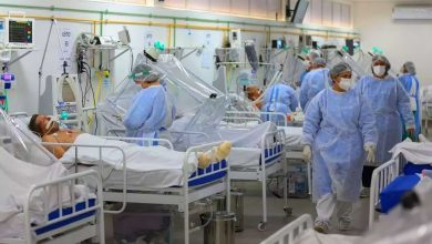 "Photo of Lebanon's ""full"" hospitals"