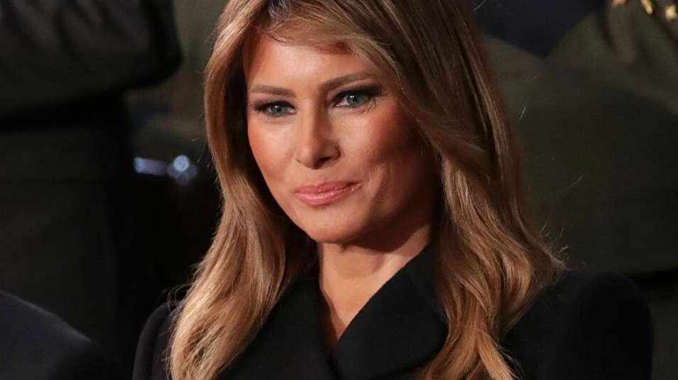 Before leaving … that's the last thing Melania Trump said, Arabic newspaper in Boston-USA-Profile News