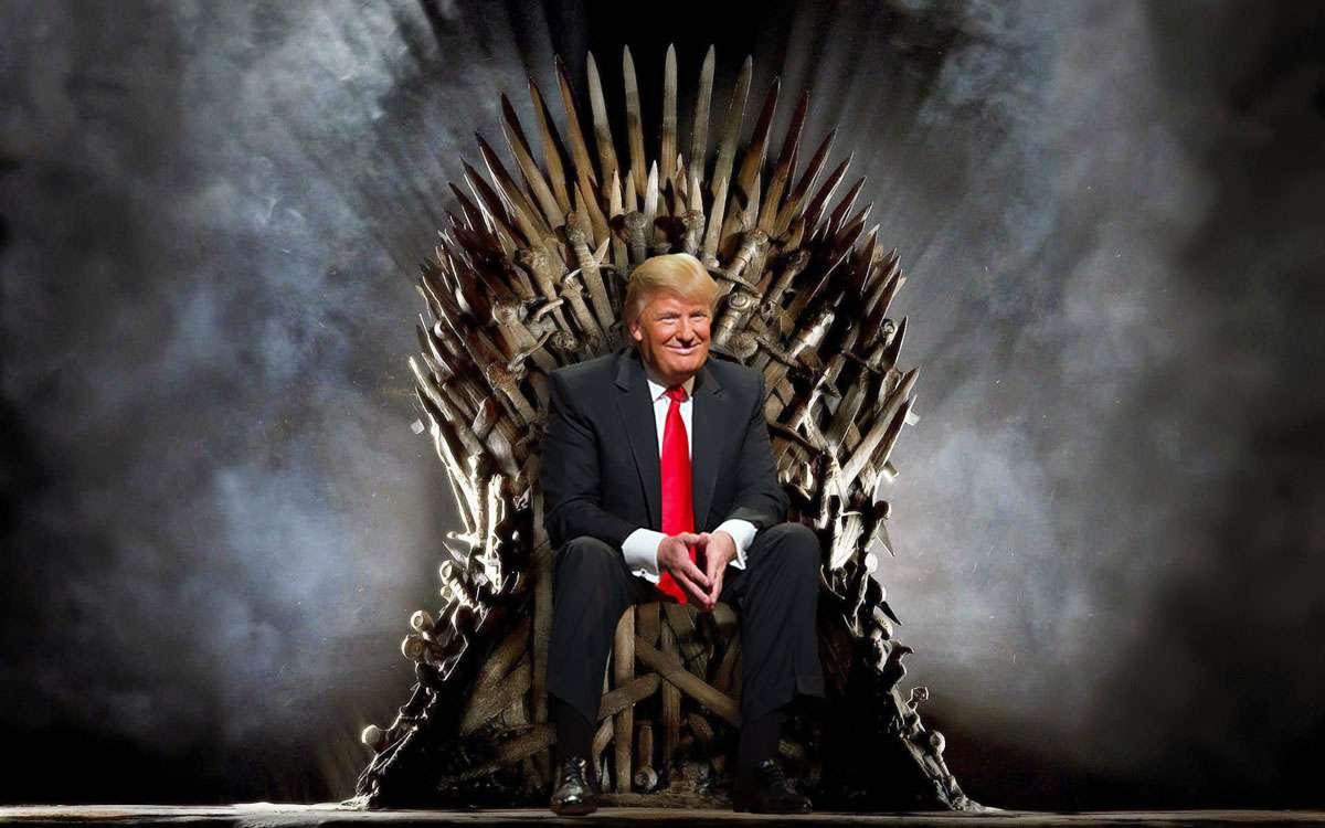 trump-throne