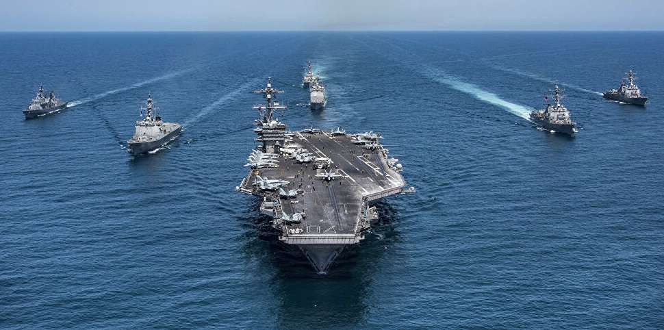 US Navy announces dual military exercises in China Sea, Arabic newspaper in Boston-USA-Profile News