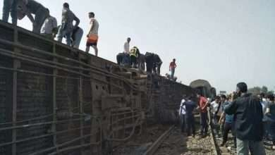 Dozens are among the dead and wounded in a train accident in Egypt, Arabic newspaper in Boston-USA-Profile News