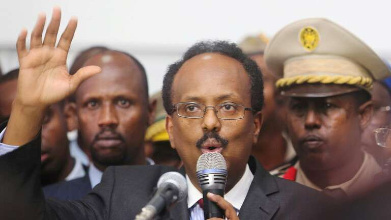 The president of Somalia waives his mandate, Arabic newspaper in Boston-USA-Profile News
