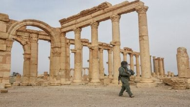 Destruction of a network of caves near Palmyra!!, Arabic newspaper in Boston-USA-Profile News