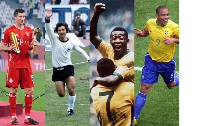 The 10 best forwards in the history of football, Arabic newspaper in Boston-USA-Profile News