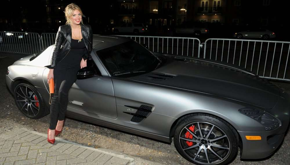 American model Kate Upton and her new car, Arabic newspaper in Boston-USA-Profile News