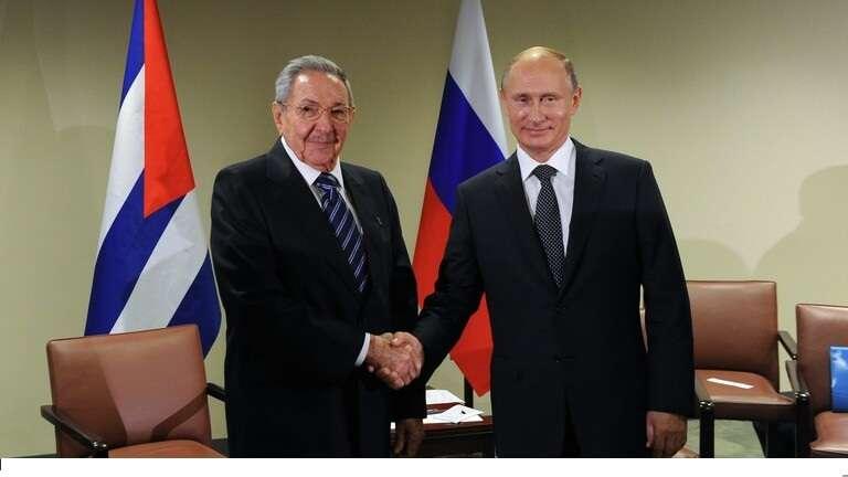 بوتين يهنئ راؤول كاسترو, صحيفة عربية في بوسطن-أمريكا-بروفايل نيوز