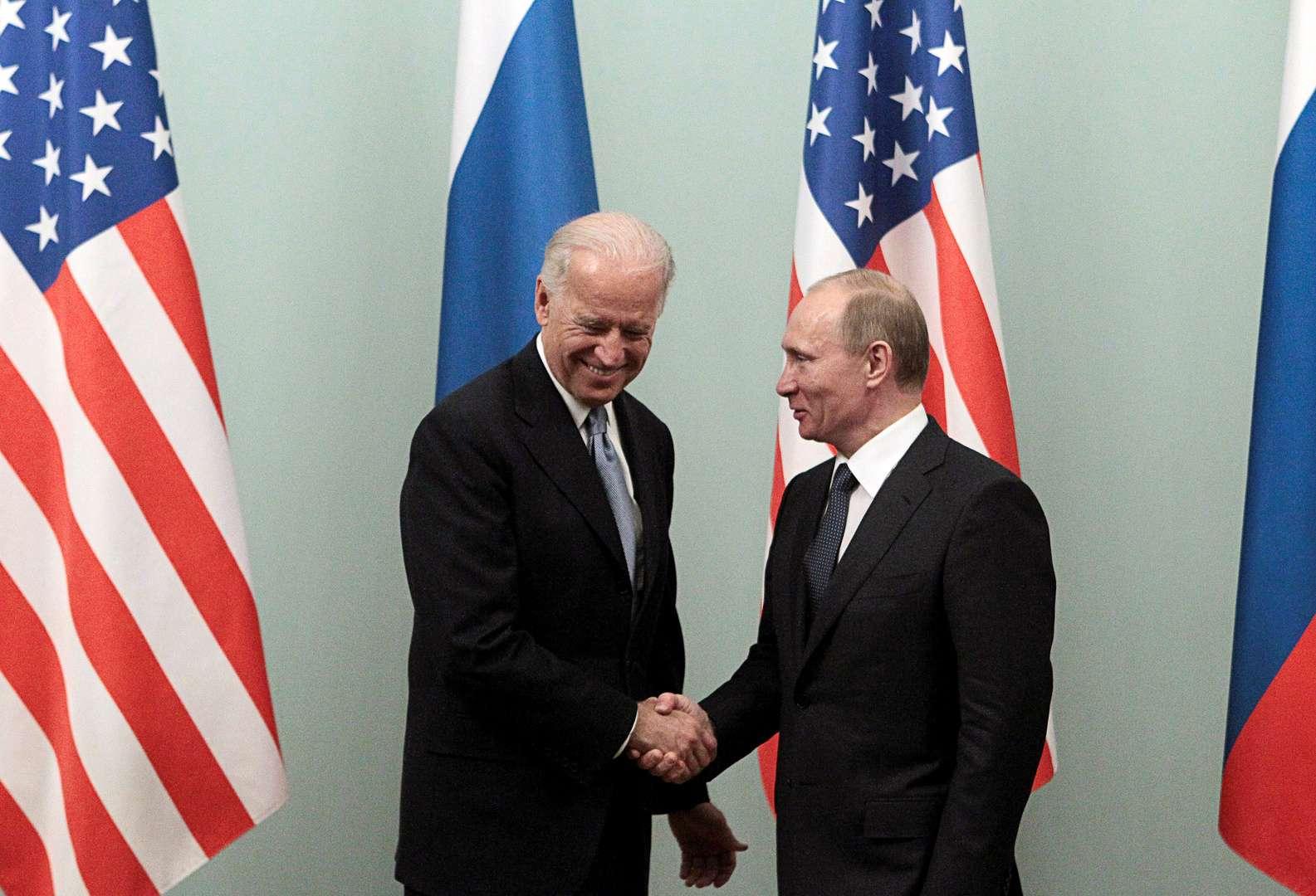 Putin praises Biden .. But!, Arabic newspaper in Boston-USA-Profile News