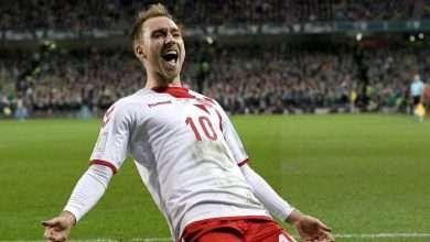 ماذا حدث لنجم الدنمارك خلال المباراة؟, صحيفة عربية في بوسطن-أمريكا-بروفايل نيوز
