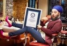 Model enters Guinness thanks to her beard!, Arabic newspaper in Boston-USA-Profile News